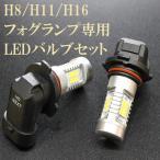 ショッピングLED フィット フォグランプ用LEDバルブセット GK/GP3.4.5.6 H25/9〜 H8 車検対応 フォグライト用LED フォグ用LED