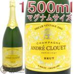 アンドレ クルエ ドリーム ヴィンテージ 2002 マグナム シャンパン 白 辛口 1500ml 正規品 Andre Clouet Dream Vintage 2002 Magnum