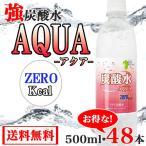 炭酸水 500ml 48本 最安値 画像