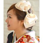 Yahoo!ウエディング専門店 ミュゼ和装 髪飾り 花 ヘッドドレス 和 和婚 和風 造花 ウェディング 神前式 ブライダル 振袖 袴 成人式 アンジュリボン