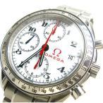 オメガ 時計 スピードマスター デイト メンズ 白文字盤 3513.20 美品 1932年 オリンピック 限定 国内店保証書 BOXつき レア