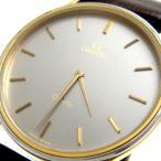 オメガ 時計 デビル メンズ コンビ シルバーグレー文字盤 OMEGA deville デ・ビル デヴィル デ・ヴィル レア