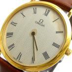 オメガ 時計 デビル メンズ 薄型 ラウンドゴールド ローマ文字盤 OMEGA DeVille デヴィル デ・ビル デ・ヴィル