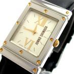 ジュンコ・シマダ 時計 レクタンギュラー レディース コンビ シルバー文字盤 Y150-5E00 JUNKO SHIMADA 90年代 ヴィンテージ