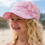 帽子 UVカット キャップ 女の子 ポニーテールができる帽子 キッズ帽子 Kooringal 子供 子供用帽子 紫外線対策 春夏