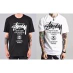 大人気&ステューシー STUSSY WORLD TOUR TEE Tシャツ 半袖  World Tour T-shirt[並行輸入品]