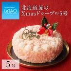 クリスマスケーキ 予約 2021 ルタオ 北海道苺のXmasドゥーブル5号 Xmasケーキ ★クリスマス対象商品