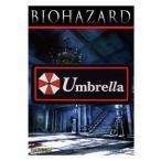 正規品 BIOHAZARD Umbrella アンブレラ ロゴPVC ワッペン ベルクロ付き Resident Evil レオン クリス STARS スターズ アリス 生化危机