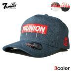 7UNION セブンユニオン スナップバックキャップ 帽子 メンズ レディース デニム wt bk nv