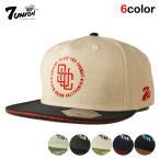 7UNION セブンユニオン スナップバックキャップ 帽子  メンズ レディース wt gy bk