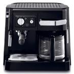ショッピングデロンギ 【送料無料】デロンギDeLonghi コンビコーヒーメーカー ドリップコーヒー ブラック BLACK  [BCO410J-B] エスプレッソマシーン カプチーノメーカー