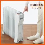 ショッピングオイルヒーター ユーレックス オイルヒーター1500W LFX11EH(IW) eureks アイボリーホワイト LEDライト 最大10畳 マイタイマー搭載 ECO 省エネ 日本製
