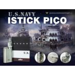 電子タバコ VAPE ベイプ 限定販売 NAVY Eleaf iStick Pico スターターキット バッテリー付 アイスティック ピコ 電子たばこ 電子煙草 イーリーフ 爆煙
