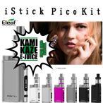 電子タバコ VAPE ベイプ iStick Pico スターターキット バッテリー リキッド KAMIKAZE プレゼント アイスティック ピコ 電子たばこ 電子煙草 爆煙