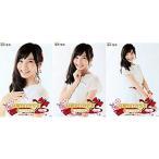 福岡聖菜 公式生写真 高橋みなみ卒業 AKB48 単独コンサートVer. ランダム 3枚コンプ