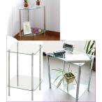 サイドテーブル 花台/ガラスラック プランターテーブル/ミニテーブル/電話台/ファックス代