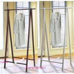 Yahoo!リバティートップハンガーラック 木製スタイルハンガー 北欧風天然木洋服掛け 折りたたみAラインコートハンガー