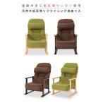 低反発リクライニング高座椅子 背もたれ付き5段階調整肘付座敷いす/いたわりチェアー