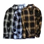 CALTOP キャルトップ OMBRE CHECK SHIRTS オンブレチェックシャツ