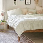 Urban Outfitters(アーバンアウトフィッターズ)/掛け布団カバー*Plum & Bow Tufted Dot Duvet Cover/Mint 37826898