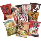 全日本味くらべラーメン 10食セット ZS-105