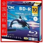 TDK Ͽ���ѥ֥롼�쥤�ǥ����� BD-R 25GB 1-4��® �ۥ磻�ȥ磻�ɥץ�֥� 10�� 5mm����ॱ���� BRV25PWB10A