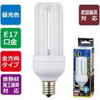 オーム電機 06-1673 LED電球 D形(60形相当/845lm/昼光色/E17/全方向配光280°/密閉形器具対応/断熱材施工器具対応) LDF7D-G-E17