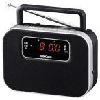 オーム電機 07-9723 デジタルクロックラジオ ブラック RAD-F3357M-K