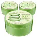 アロエベラ 92% モイスチャー スージングジェル 300ML 3個セット 水分 肌 保湿 ボディケア スキンケア (送料無料)