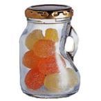 ミニストック200ST 20本入り (キャップシール・キャップ付き)【ガラス瓶・ジャム瓶・びん・日本製・安全・ビン・保存瓶・無色透明】