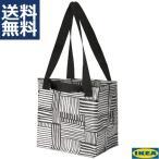 IKEA イケア Sサイズ キャリーバッグ エコバック フィスラ FISSLA ホワイト ブラック