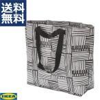 IKEA イケア Mサイズ キャリーバッグ エコバック フィスラ FISSLA ホワイト ブラック