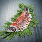 お歳暮ギフト 北海道グルメ 知床産 一等検目近鮭姿 山漬2.5?2.9kg(切身個包装) 送料無料