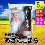 秋田県産 あきたこまち 5kg 新米 平成29年 送料無料 送料込み 米 旨み ねばり お取り寄せグルメ お歳暮
