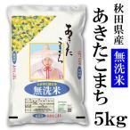 秋田県産 無洗米あきたこまち 5kg 令和元年産 送料無料 送料込み 米 とがずに炊ける お取り寄せグルメ
