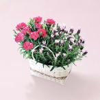 母の日 ギフト カーネーションバッグ ラブリーラビット (送料無料) (お届け期間5月10日〜13日) フラワー 花