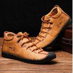 メンズ カジュアルシューズ 手作り ワークブーツ オックスフォードの靴 カジュアルシューズ ファッションスニーカー レースアップシューズ 通勤用