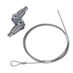 ショッピング家具 ARAKAWA 転倒防止ワイヤー 軽量タイプ ARH-TB02 2セット