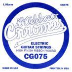 DADDARIO 0019954951412 【10個セット】D'Addario ダダリオ エレキギター用バラ弦 フラットワウンド .075 CG075