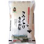 【納期目安:1週間】M-8078 兵庫県但馬産こしひかりコウノトリ育むお米(特別栽培米)5kg (M8078)