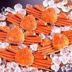 ds-2251326 【身入り抜群のA級品!】カナダ産ボイルズワイガニ姿・約500g×5尾 冷凍ズワイ蟹 (ds2251326)