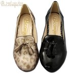 美脚 インヒール タッセル付きローファーレインシューズ レディース レインパンプス 防水 晴雨兼用 雨の日もオシャレしよう 324002 コンフォート 婦人靴
