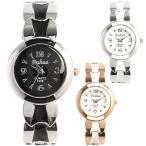 レディース腕時計  ツートンカラーのスタイリッシュバ
