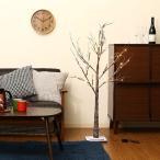 ショッピングクリスマスツリー クリスマスツリー ブランチツリー 120cm Mサイズ LED48球使用 イルミネーションライト xmas603 おしゃれ 北欧 飾り ディスプレイ 電飾