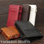 財布サイフさいふ/財布メンズ/財布メンズ二つ折り/財布メンズ人気/財布ブランド/短財布 VACHERON HEARTS ヴァセロンハーツvh3000