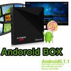 4Kアンドロイドボックス  DDR3 1GB メモリ8GB内蔵  有線/無線両対応 Android5.1.1搭載 Playストア搭載 クアッドコア LP-TMDRK4MINI