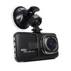 前後カメラドラレコ  前後録画対応 ドライブレコーダー 3.0インチ 大画面 スクリーン バックカメラ 暗視 LED 付き LP-FH06H