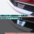 LEDライト ソーラー充電式 2個セット 防水 フォグライト テールランプ 汎用 LP-CARSS06