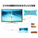 スマホ TO HDMI変換ケーブル 1080P HDTV高解像度 iPhone/iPad/Android/Air/Air2対応 Youtube/写真/動画/ゲーム等をそのままテレビに映す 設定不要  LP-SP2HDMI