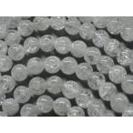 【天然石卸】クラック水晶AAA ラウンド8mm 1連売り